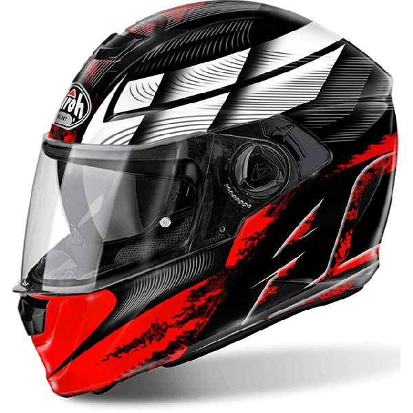 Casco integrale Airoh Storm Pinlock Ready Starter rosso lucido