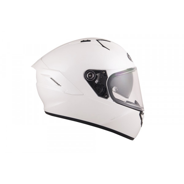 Casco integrale Kyt NF-R Plain bianco perla