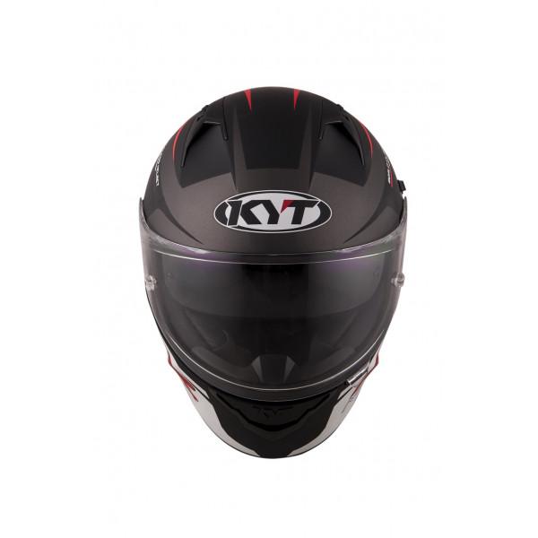 Casco integrale Kyt NF-R Track grigio opaco