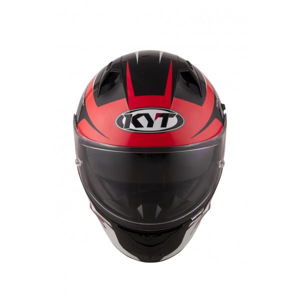 Casco integrale Kyt NF-R Track rosso