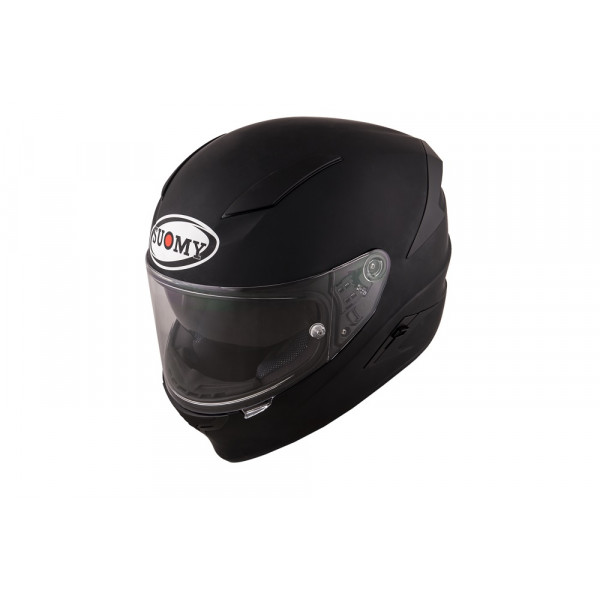Casco integrale Suomy Speedstar Plain in fibra nero opaco