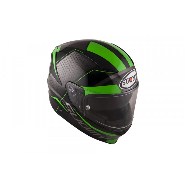 Casco integrale Suomy Speedstar Rap in fibra verde