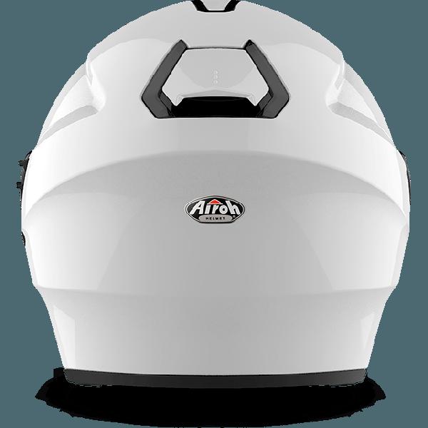 Casco jet Airoh Hunter Pinlock Ready Color bianco lucido