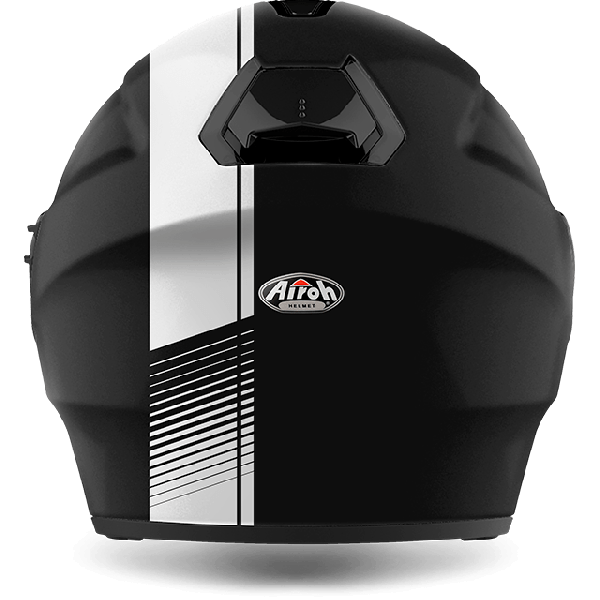 Casco jet Airoh Hunter Pinlock Ready Simple nero opaco