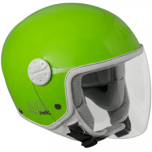 Casco jet bambino CGM Varadero Verde