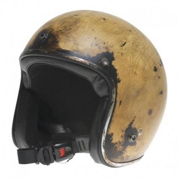Casco jet HOLY FREEDOM Le Clochard Sourire 1971 Edizione Limitata marrone