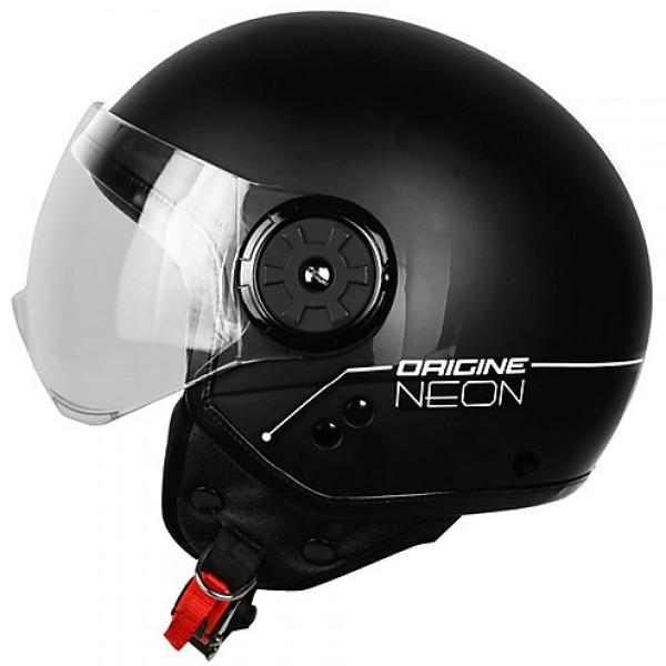 Casco Jet Origine Neon Street nero bianco