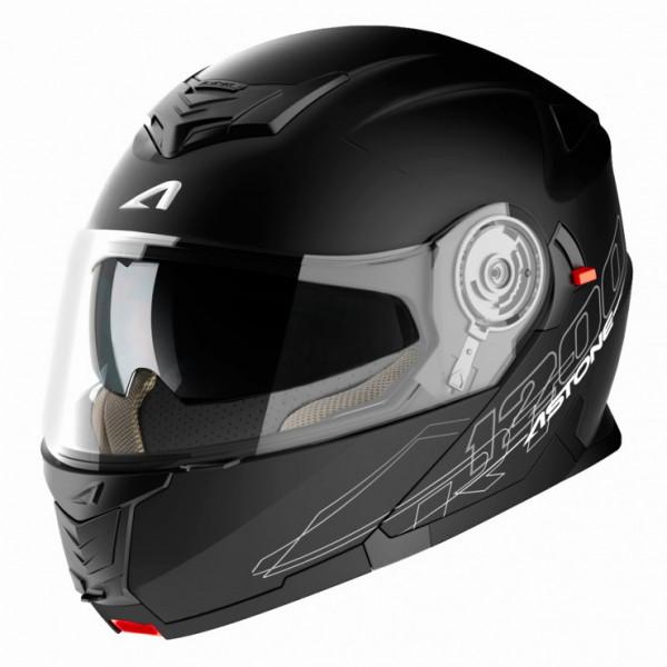 Casco modulare Astone Helmets RT 1200 Nero Opaco