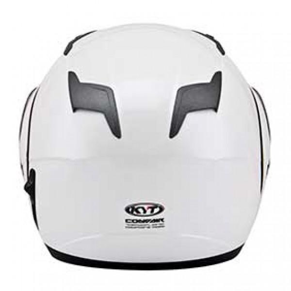 Casco modulare KYT Convair Plain bianco perla