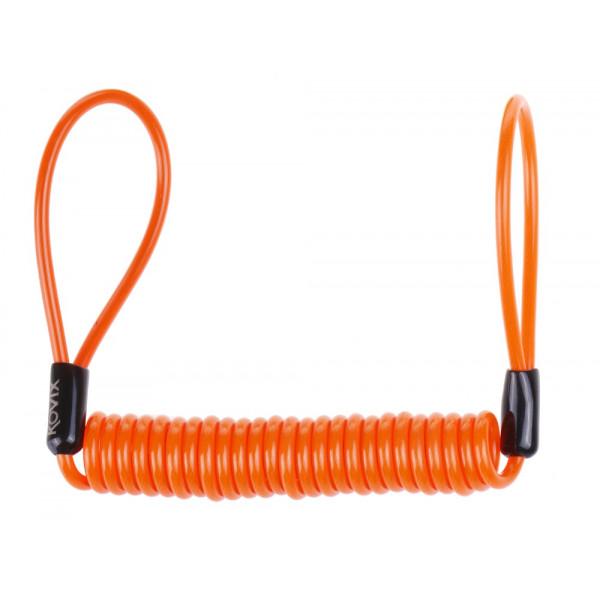 Cavo bloccadisco Kovix arancio fluo