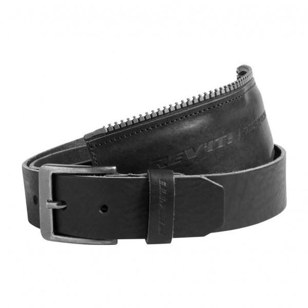 Cintura di connessione in pelle Rev'it Safeway per giacca e jeans Nero