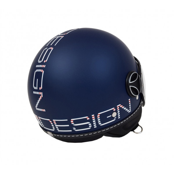 Casco jet Momo Design Fighter Classic Summer Special Edition Blu