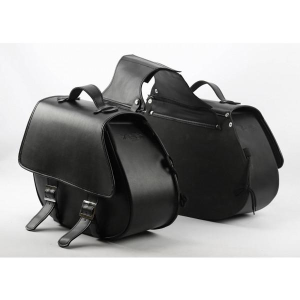 Coppia borse laterali Carburo Predator Nero