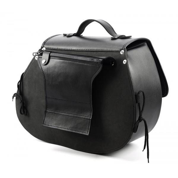 Coppia borse pelle custom Vand Predator Bag