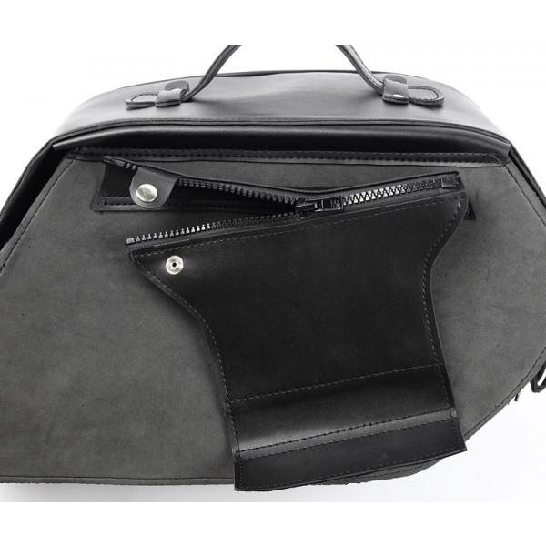 Coppia borse pelle custom Vand Revolution Bag
