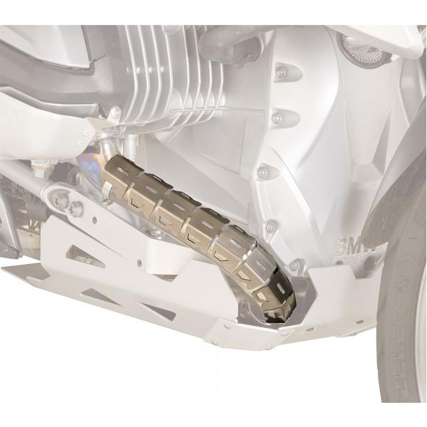 Coppia di paracollettori Kappa universali in acciaio inox per collettori tra i 32mm e i 42mm