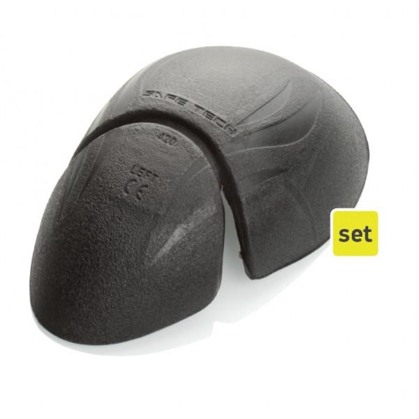 Coppia di protezioni spalle Macna Safetech 420 Viscoflex nero