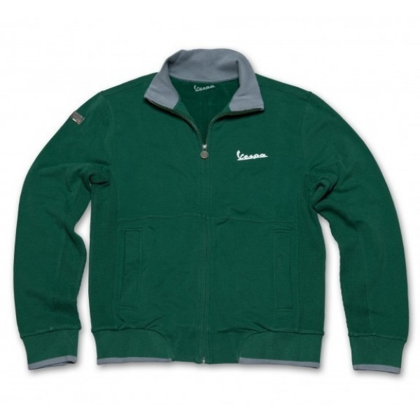 Felpa Vespa Original verde