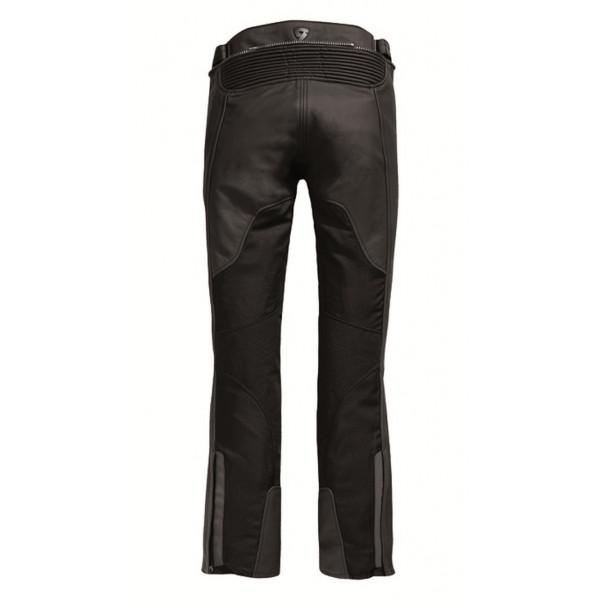 stile classico del 2019 prezzi incredibili New York Pantaloni moto pelle donna Rev'it Gear 2 Nero - Allungato