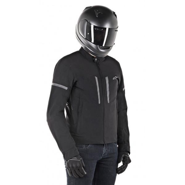 Giacca moto Alpinestars MAXIM WP nero nero
