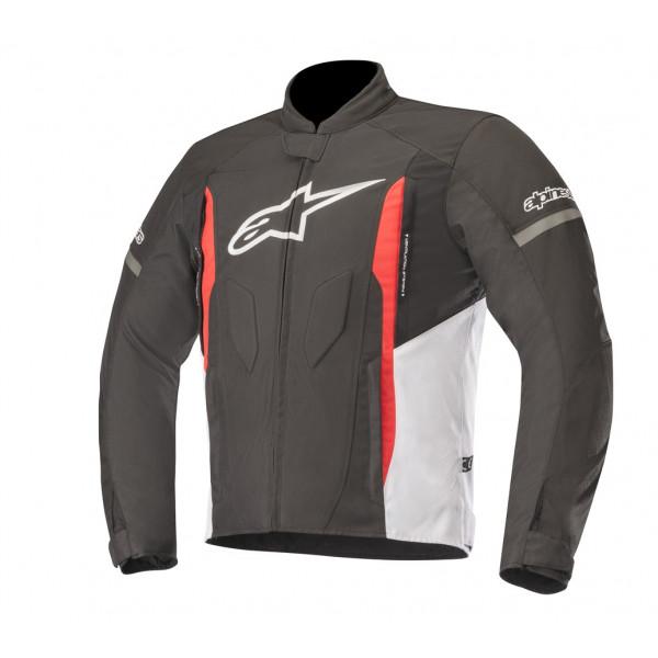 Giacca moto Alpinestars T-FASTER nero bianco rosso