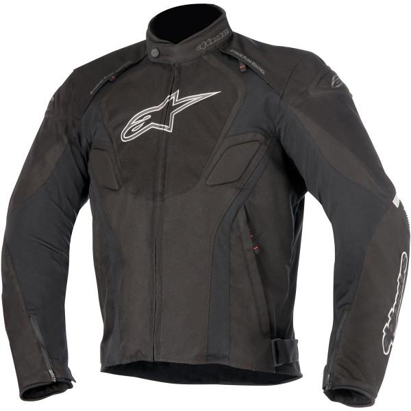 Giacca moto Alpinestars T-JAWS WATERPROOF nero antracite