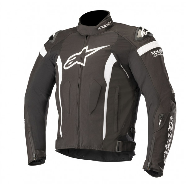 Giacca moto Alpinestars T-MISSILE Drystar Tech-Air compatibile nero bianco