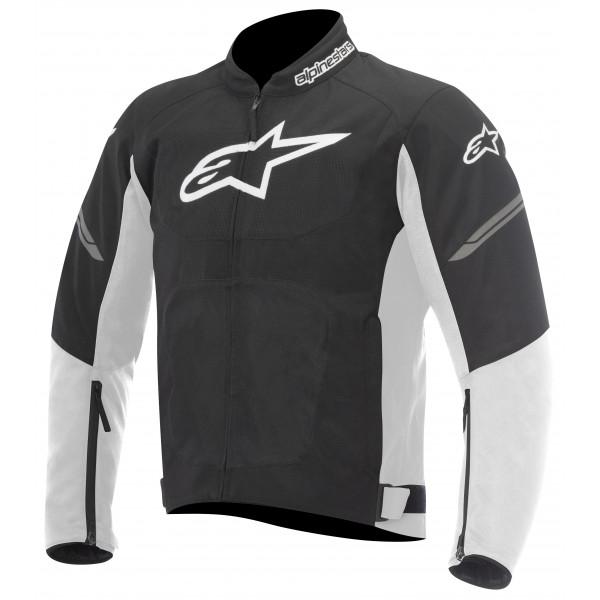 Giacca moto Alpinestars Viper Air nero bianca