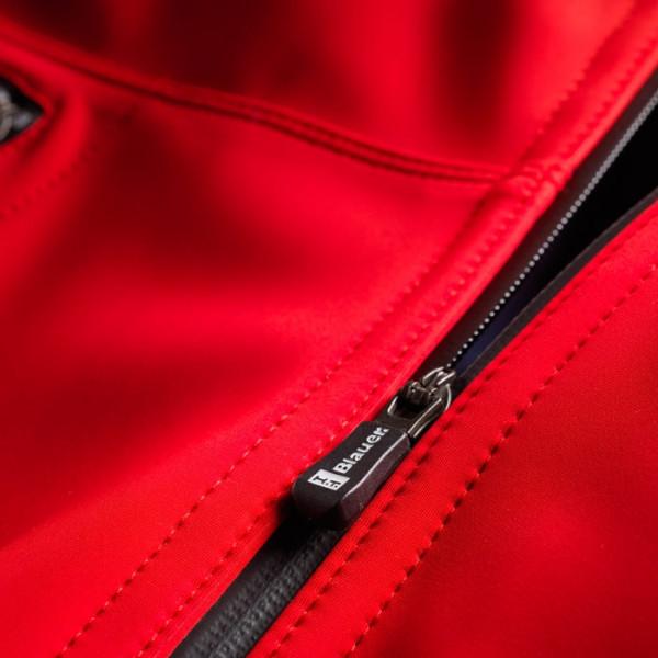 Giacca moto Blauer EASY MAN 1.0 rosso