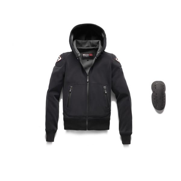 Giacca moto Blauer EASY MAN 1.1 nero asfalto