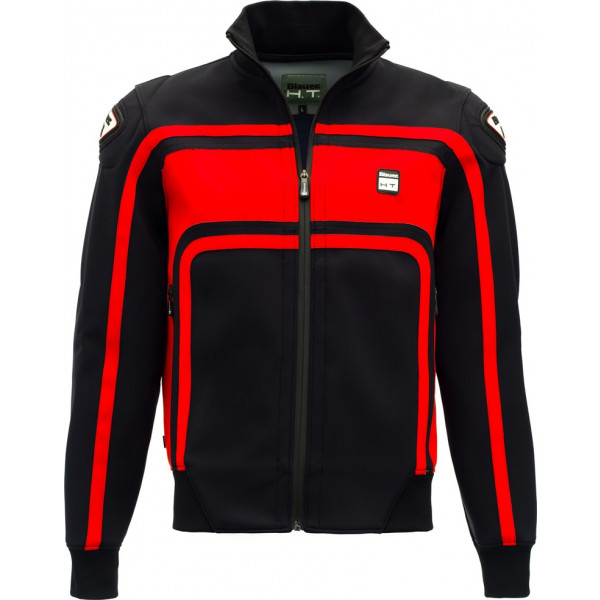 Giacca moto Blauer EASY RIDER Nero Rosso
