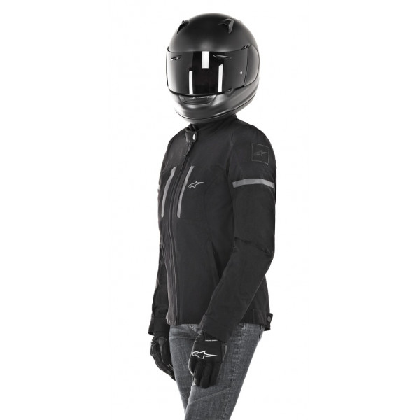 Giacca moto donna Alpinestars STELLA JULIE WP nero nero