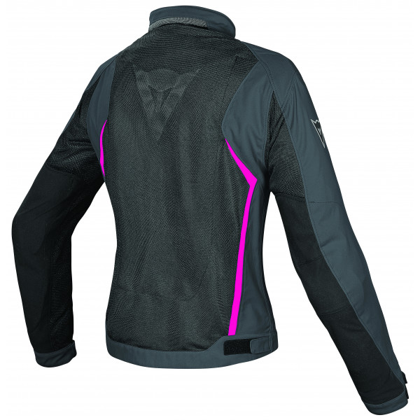 Giacca moto donna Dainese Hydra Flux D-Dry Nero ebony fuxia