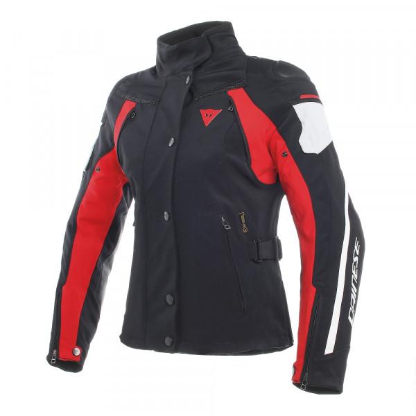 Giacca moto donna Dainese RAIN MASTER D-DRY Nero Glacier Grigio Rosso