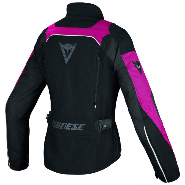Giacca moto donna Dainese Tempest D-Dry nero fuxia