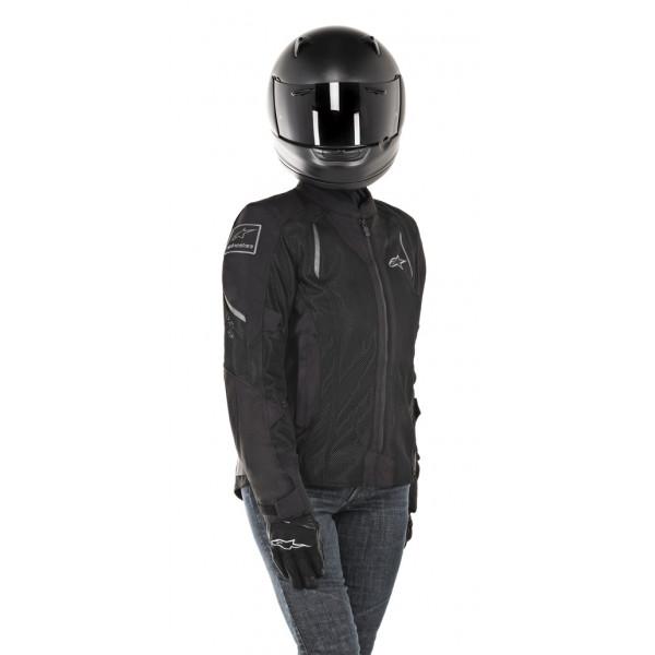 Giacca moto donna estiva Alpinestars STELLA WAKE AIR nero nero