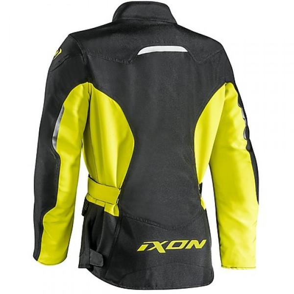 Giacca moto donna Ixon SUMMIT 2 LADY nero giallo
