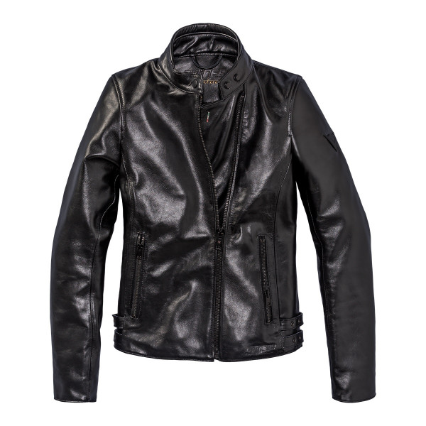Giacca moto donna pelle Dainese72 CHIODO72 LADY Nero