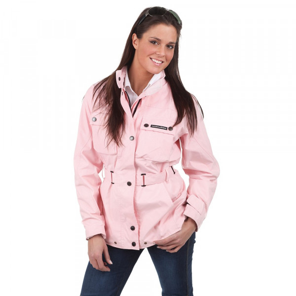 Giacca moto donna Tucano Urbano Tucanji Lady T impermeabile rosa