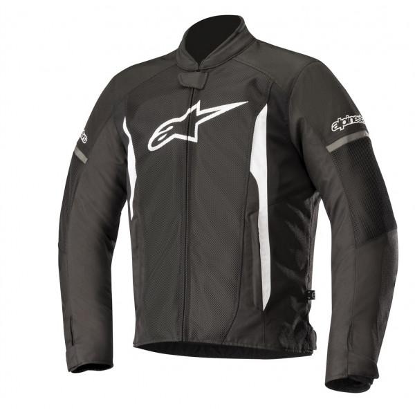 Giacca moto estiva Alpinestars T-FASTER AIR nero bianco