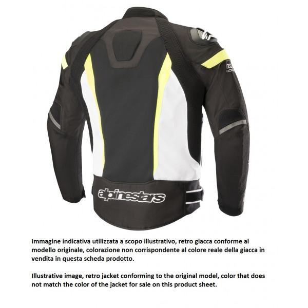 Giacca moto estiva Alpinestars T-MISSILE AIR Tech-Air compatibile nero bianco