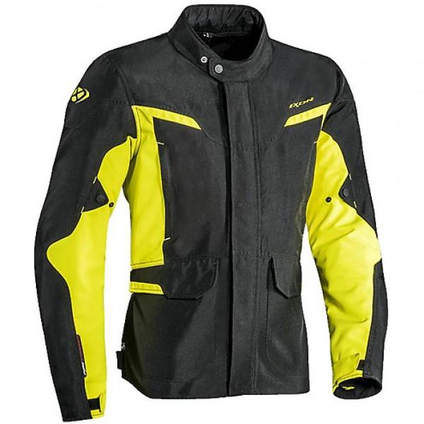 Giacca moto Ixon SUMMIT 2 nero giallo