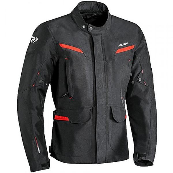 Giacca moto Ixon SUMMIT 2 nero rosso