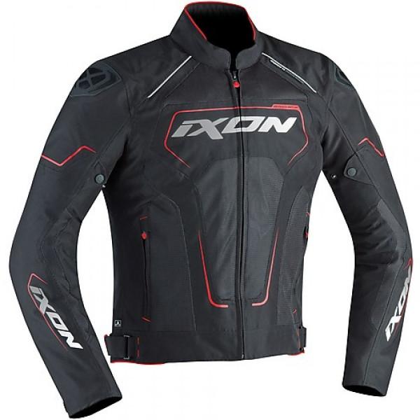 Giacca moto Ixon Zephyr Air Hp 3 strati nero bianco rosso