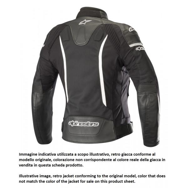 Giacca moto pelle donna Alpinestars STELLA SP X AIR nero fuxia