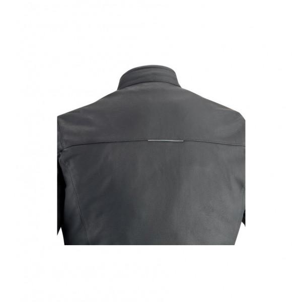 Giacca moto pelle Ixon Copper Slick C- Sizing nero