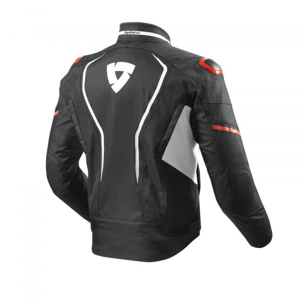 Giacca moto Rev'it Vertex H2O Bianco Rosso
