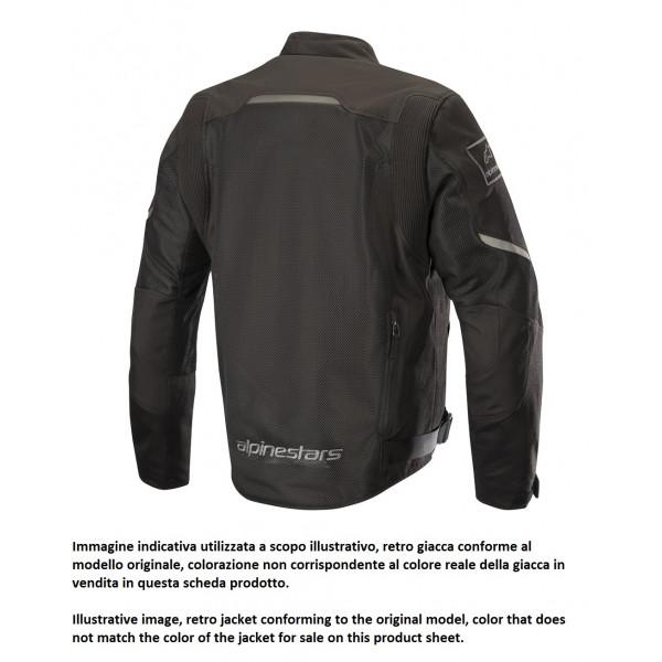 Giacca moto touring estiva Alpinestars WAKE AIR nero mid grigio