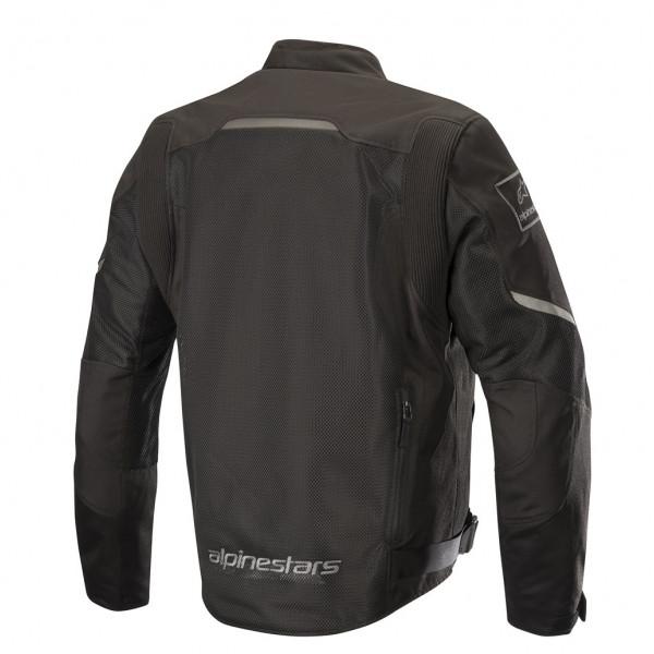 Giacca moto touring estiva Alpinestars WAKE AIR nero nero