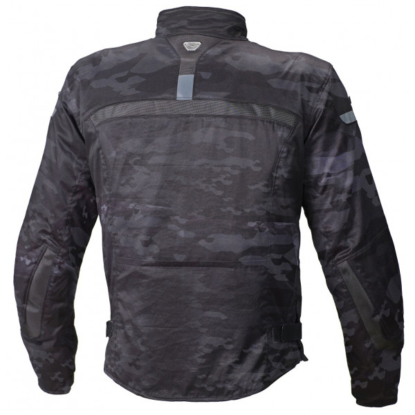 Giacca moto touring Macna Command Plus camo nero